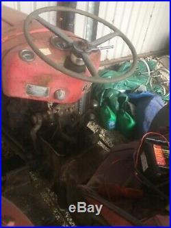 Massey ferguson 35x, 3 cylinder engine