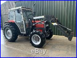 Massey ferguson 362 4wd Tractor Quicke Loader