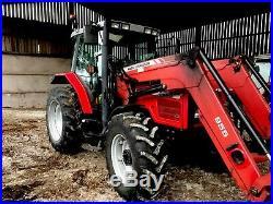Massey ferguson 6255 with loader