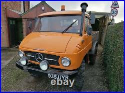 Mercedes Unimog 411 1963 Vintage Classic