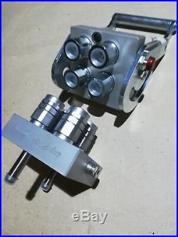 Multikupplung 4-fach Set Dnp Hydraulik Frontlader Traktor, Kupplung