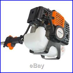 NEMAXX 4in1 Benzin 3 PS Motorsense, Motorsäge, Heckenschere Astsäge Rasentrimmer