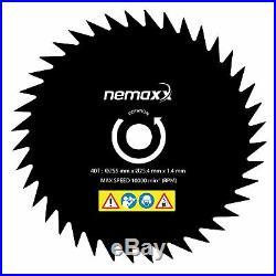 NEMAXX 5in1 PROFI Benzin 3 PS Motorsense Hochentaster Kettensäge Heckenschere