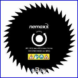NEMAXX PROFI Benzin Motorsense 3 PS 52cm³ Heckenschere, Rasenmäher Freischneider