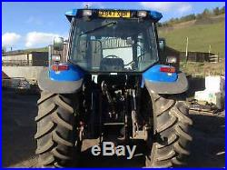 New Holland TS115 Tractor sle Gearbox V5 Present HPI Cleared