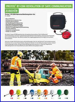 Pfanner Protos Forsthelm Integral Forest F39 Visier 204002-12 rot/neongelb