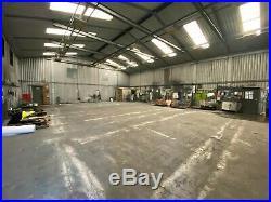 Pre-Fabricated Steel Industrial Building, Workshop, Metal Storage Shed. 260m2