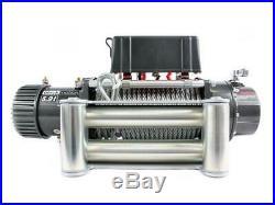Profi Seilwinde Motorwinde Elektrisch 12v 5,9t + Funkfernbedienung Offroad Forst