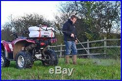 QUAD BIKE SPRAYER ATV hand lance & 1.5m boom 60L tank 12v 5m hose 60psi