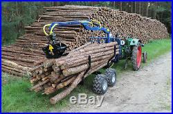 Rückewagen HWR 15 mit 1,5 Tonnen Zuladung