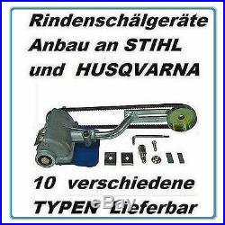Schälgerät Entrinder zum Anbau an Stihl 026 MS 260 261 271 291 Motorsägen