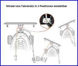 Schneeschild Räumschild für Rasentraktor 100 x 40 cm Modell Premium