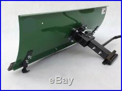 Schneeschild Räumschild für Rasentraktor 100 x 40 cm Top Qualität