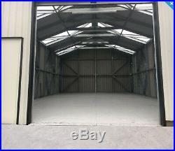 Steel Framed Building Farm Tractor Storage Agricultural Metal Shed Machinery