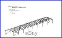 Steel Portal Framed Building 160ft x 50ft x 19ft6in