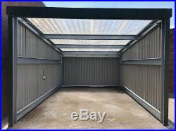 Steel framed building Steel shed, Building, Storage unit, carport, Car wash, Leanto