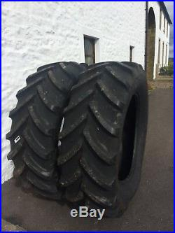 Tractor tyres 540/65/R38 New (wide 16.9x38) Firestone £600 plus vat per tyre