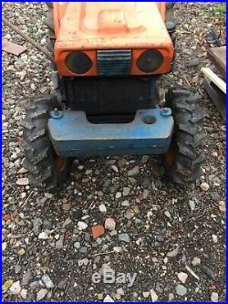 Used Kubota B6000 compact 4WD tractor
