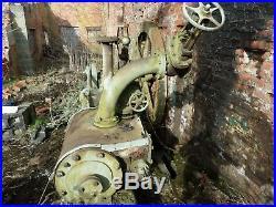 Victorian Steam Stationery Engine CC Wakefield Pickering Combination