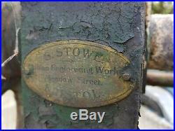 Vintage large water pump