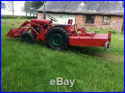 Winget Compact Tractor, With Front Loader And Topper, Very Rare vintage, antique