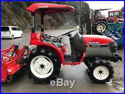 Yanmar AF16D 4WD Compact Tractor Similar to Kubota and John Deere